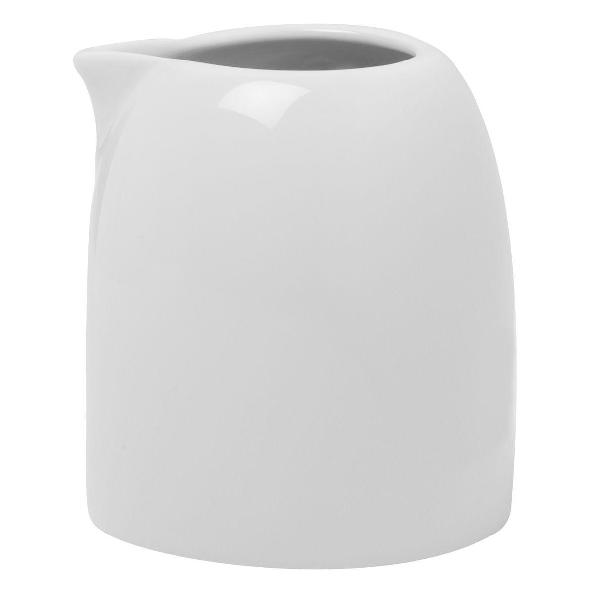 Salam Ceramic creamer in white