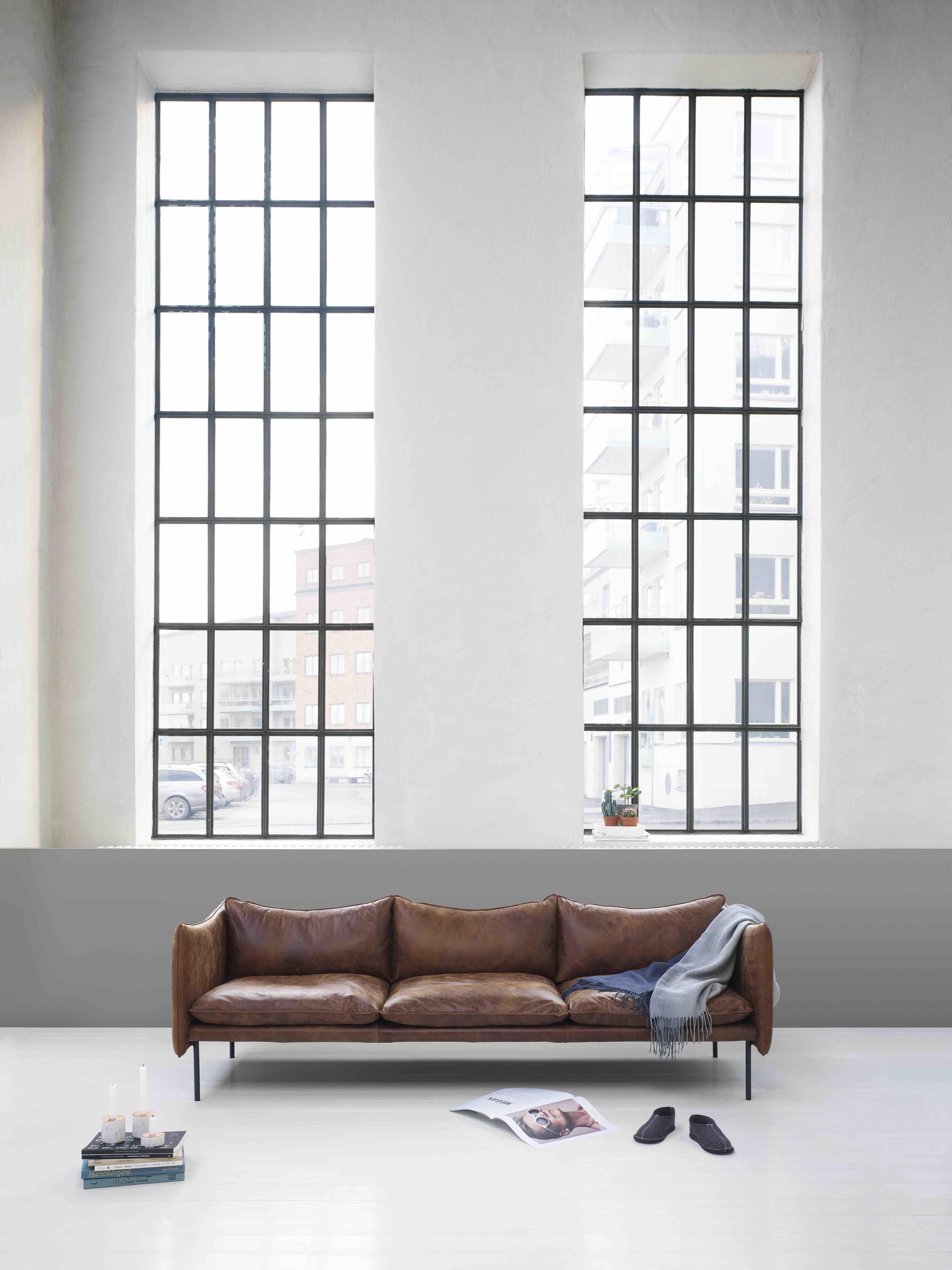 TIKI sofa 3 seater-Vintage leather