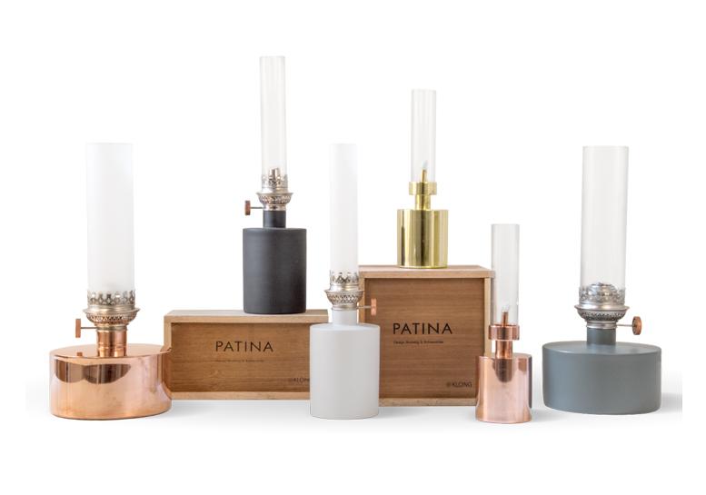 Patina Oil Lamp
