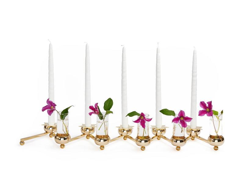 Constella Candleholder Brass