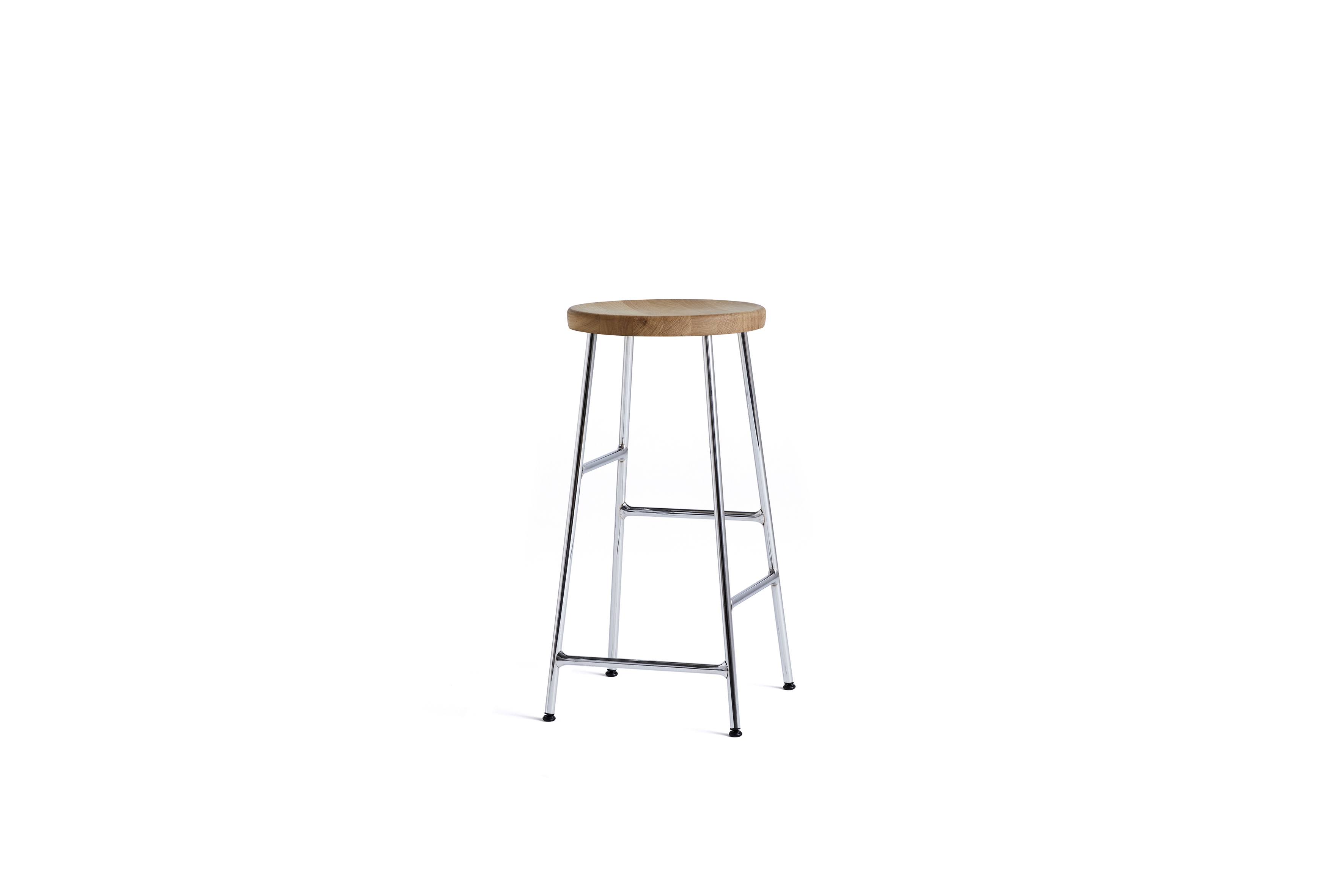 Cornet Bar Stool Chrome Low