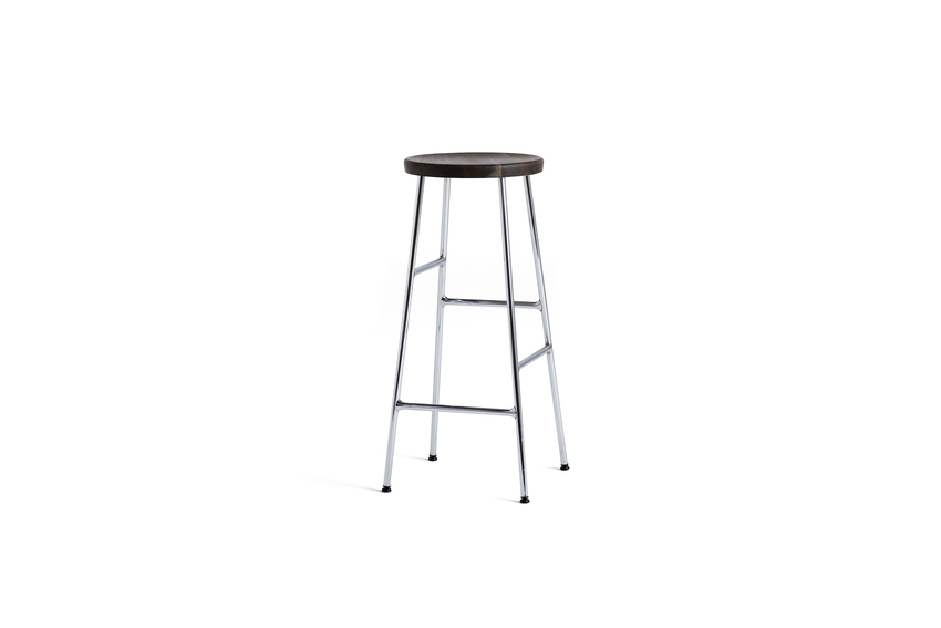 Cornet Bar Stool Chrome High