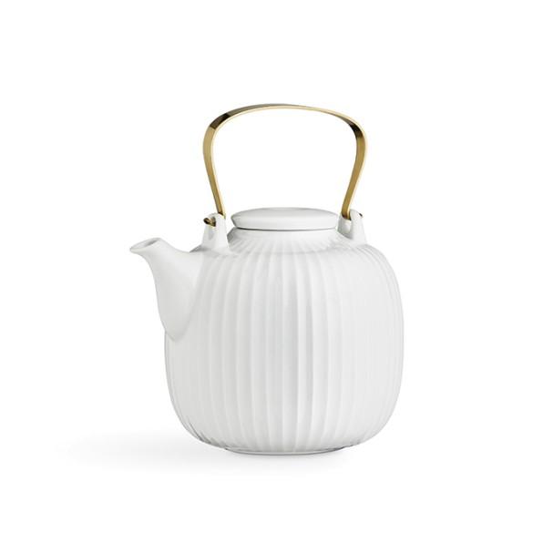 Hammershoi Tea Pot White