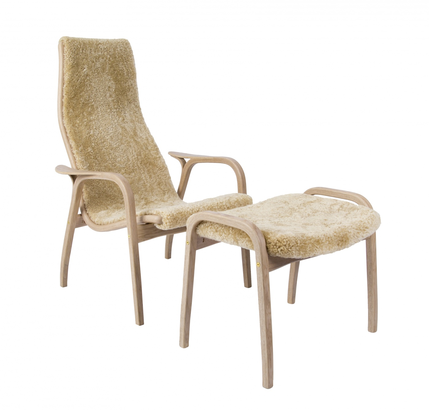 Lamino Chair and Footstool  75th Anniversary Edition