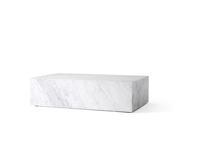 Plinth Marble Low coffee table