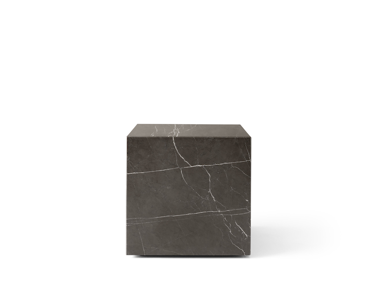 Plinth Marble Cubic table