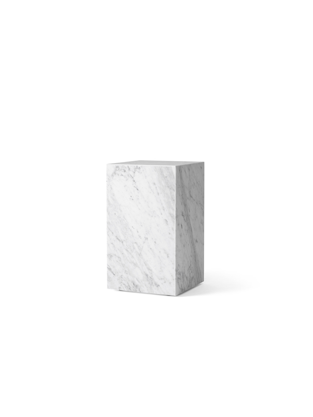 Plinth Marble Tall Table