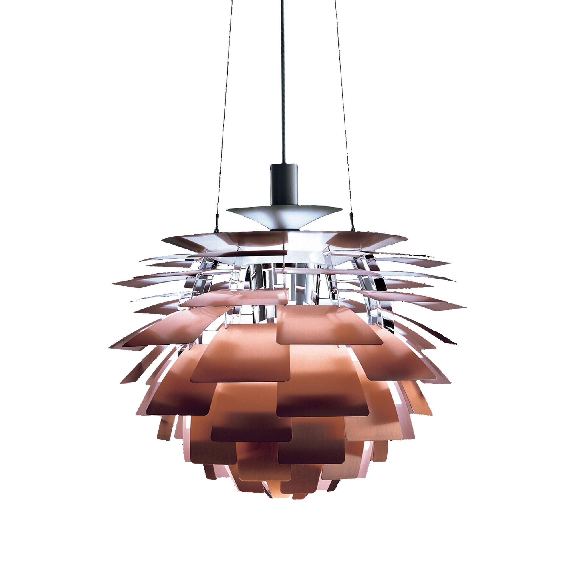 PH Artichoke pendant lamp 48cm Brass