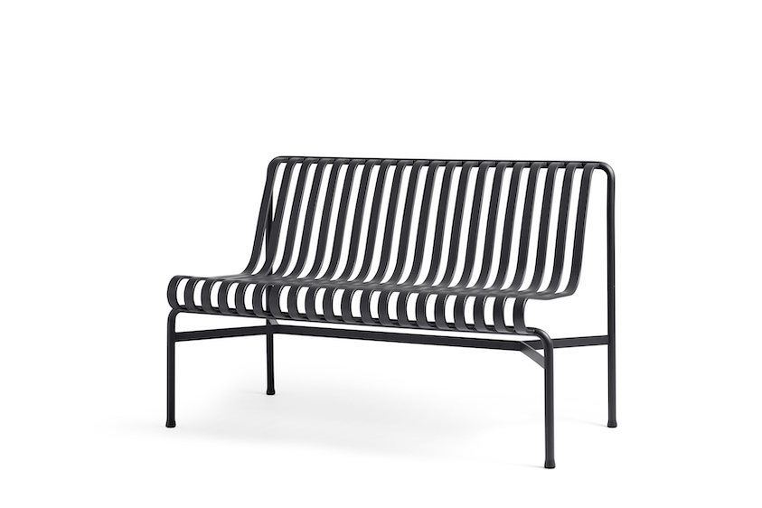 Hay Palissade Dining Bench with no arms