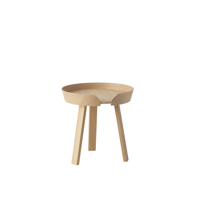 Around coffee table small