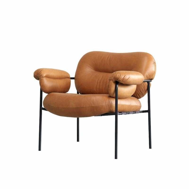Bollo armchair-Leather