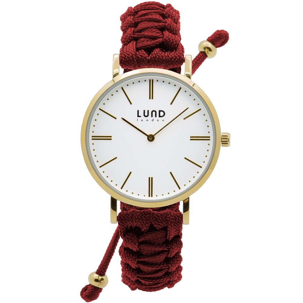 Braided Watches-Gold Clasp 39mm