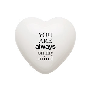 Heart Always ceramic