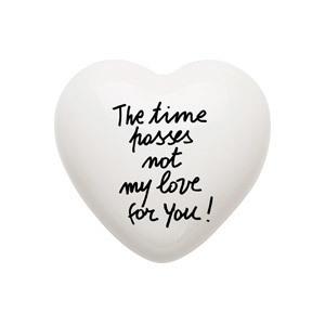 Heart Time Passes Ceramic