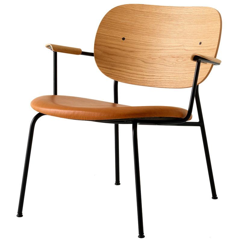Co-Lounge Chair-Oak-Dakar Leather