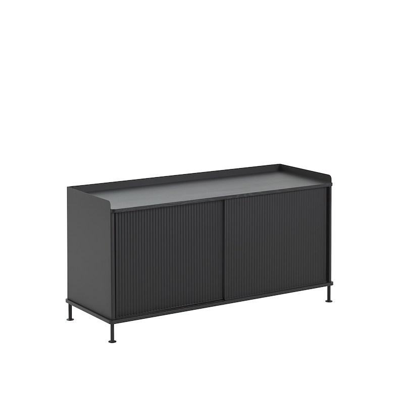 Enfold Sideboard Low Black