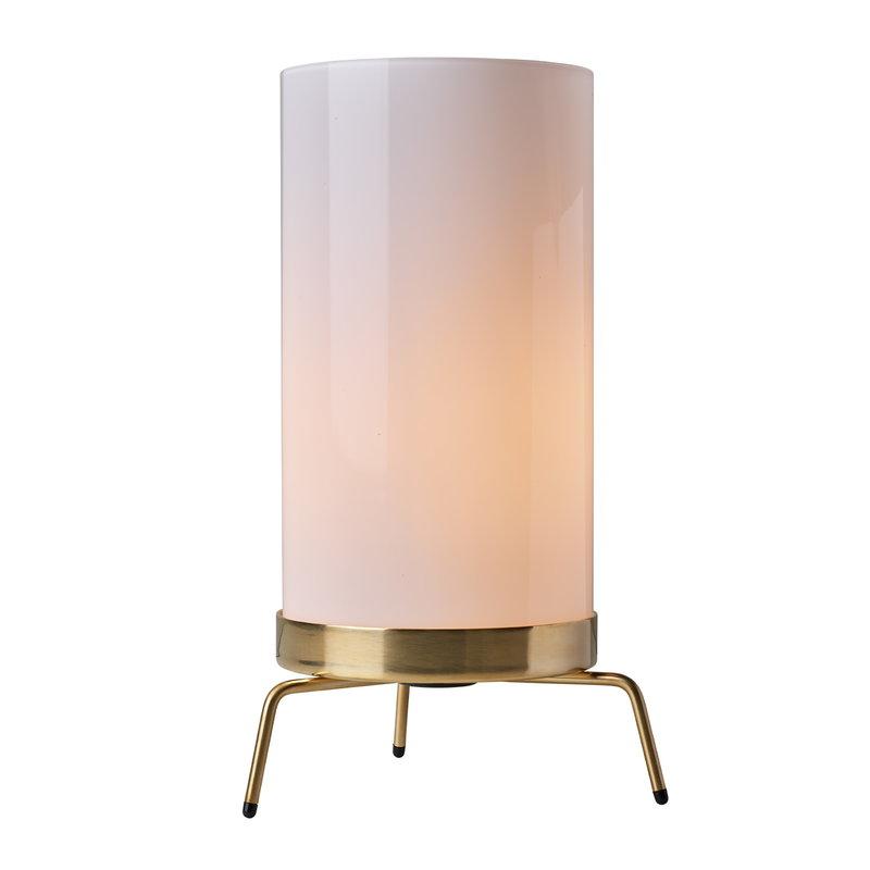 Planner Table Lamp Opal-Brass