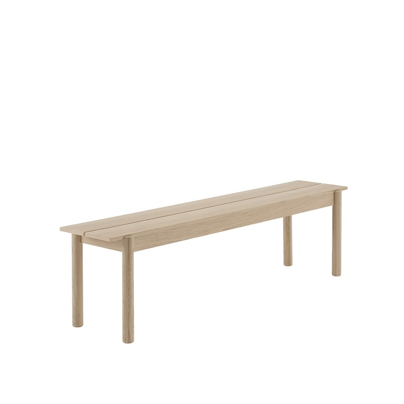Linear Wooden Bench  L170cm