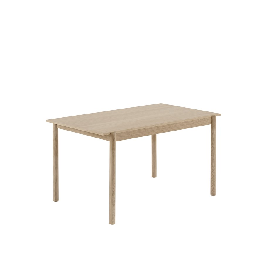 LINEAR wood table  L140CM