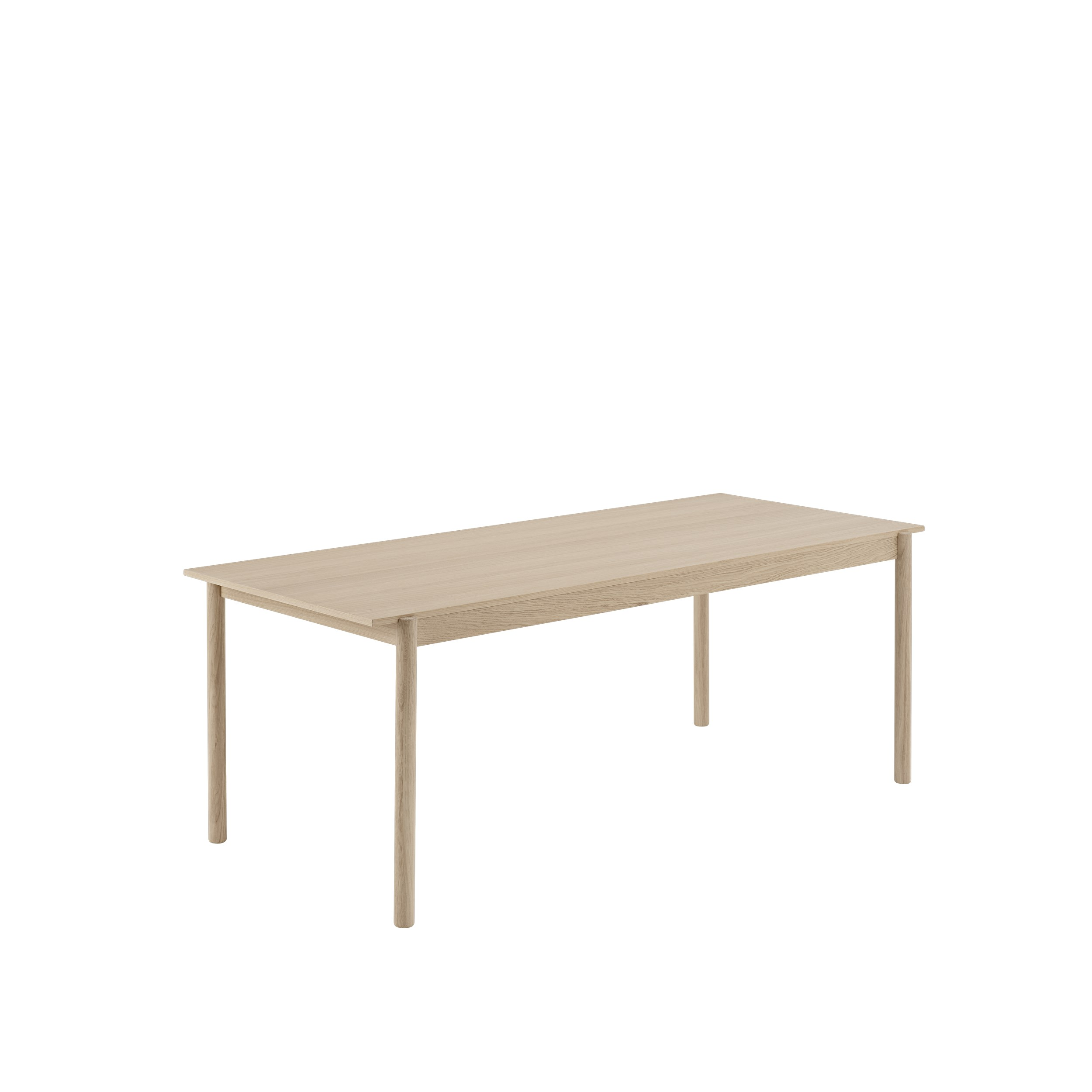 LINEAR table wood, L200 CM