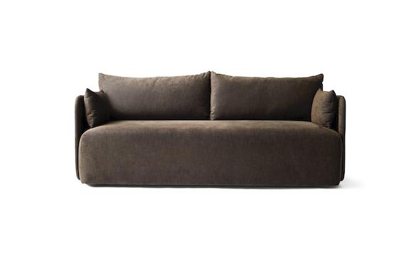 Offset 2 seater sofa