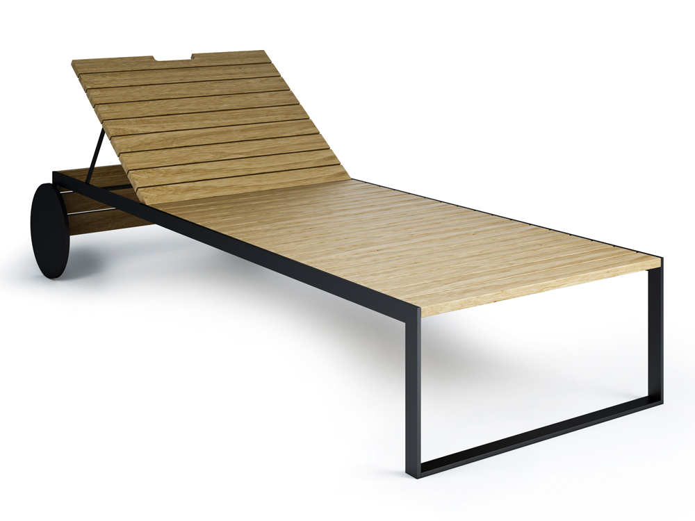 Garden Outdoor Lounger