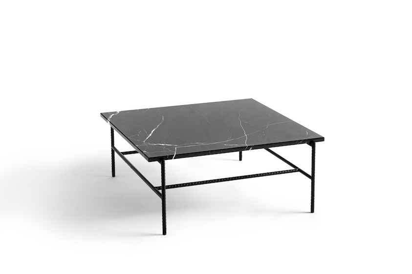 Rebar Coffee Marble Table Medium