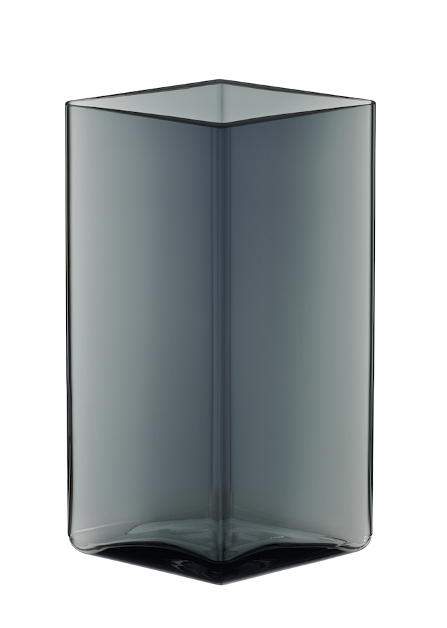 Ruutu Vase 115 x 140mm Grey