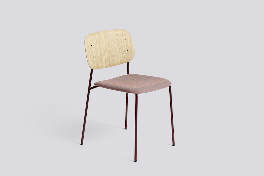 Soft Edge Chair-steel frame