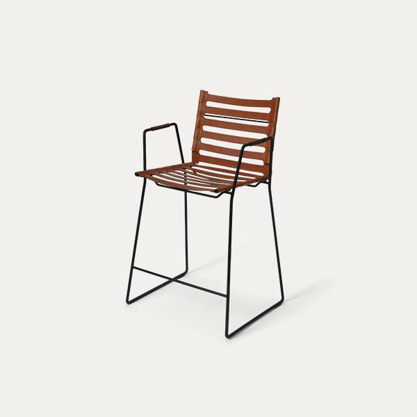 Strap Bar Stool/Chair