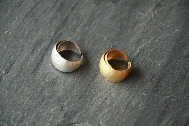 Materia Twins Ring
