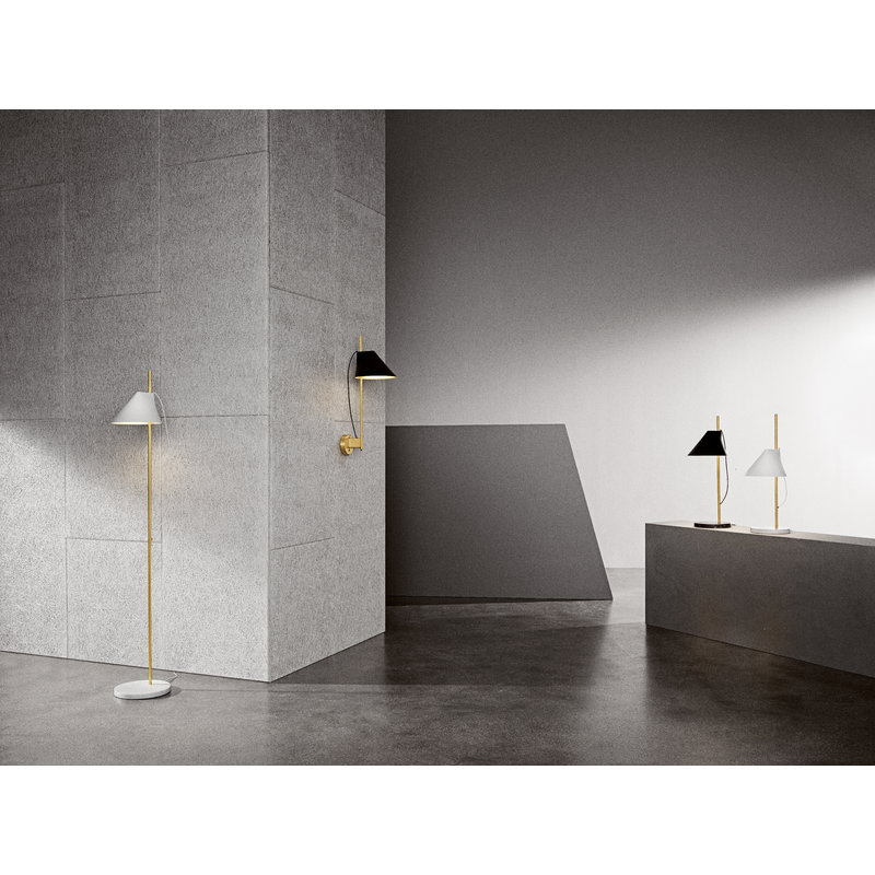 YUH Floor Lamp-Brass