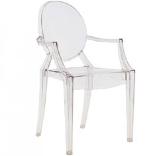 Louis Ghost Chairs x 4
