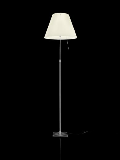 Constanza Telescopic Floor Lamp -White
