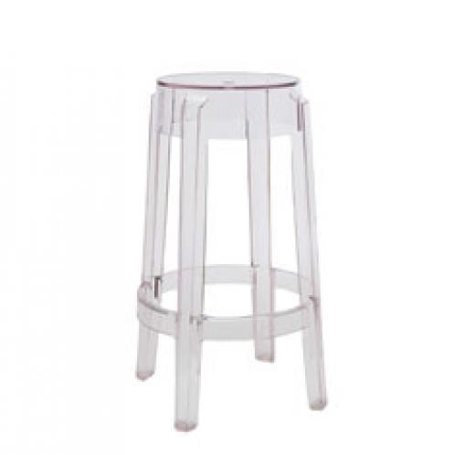 Charles Ghost stool, 2pcs