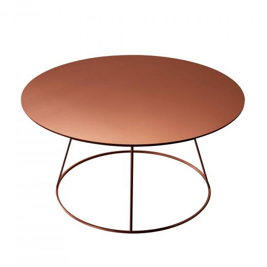 Breeze copper coffee table