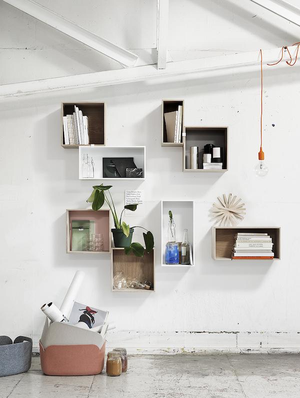 Mini Stacked shelf as seen