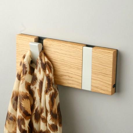 Knax  horizontal 2 hooks