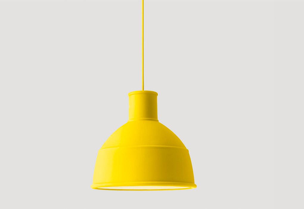 Unfold Pendant lamp- Yellow