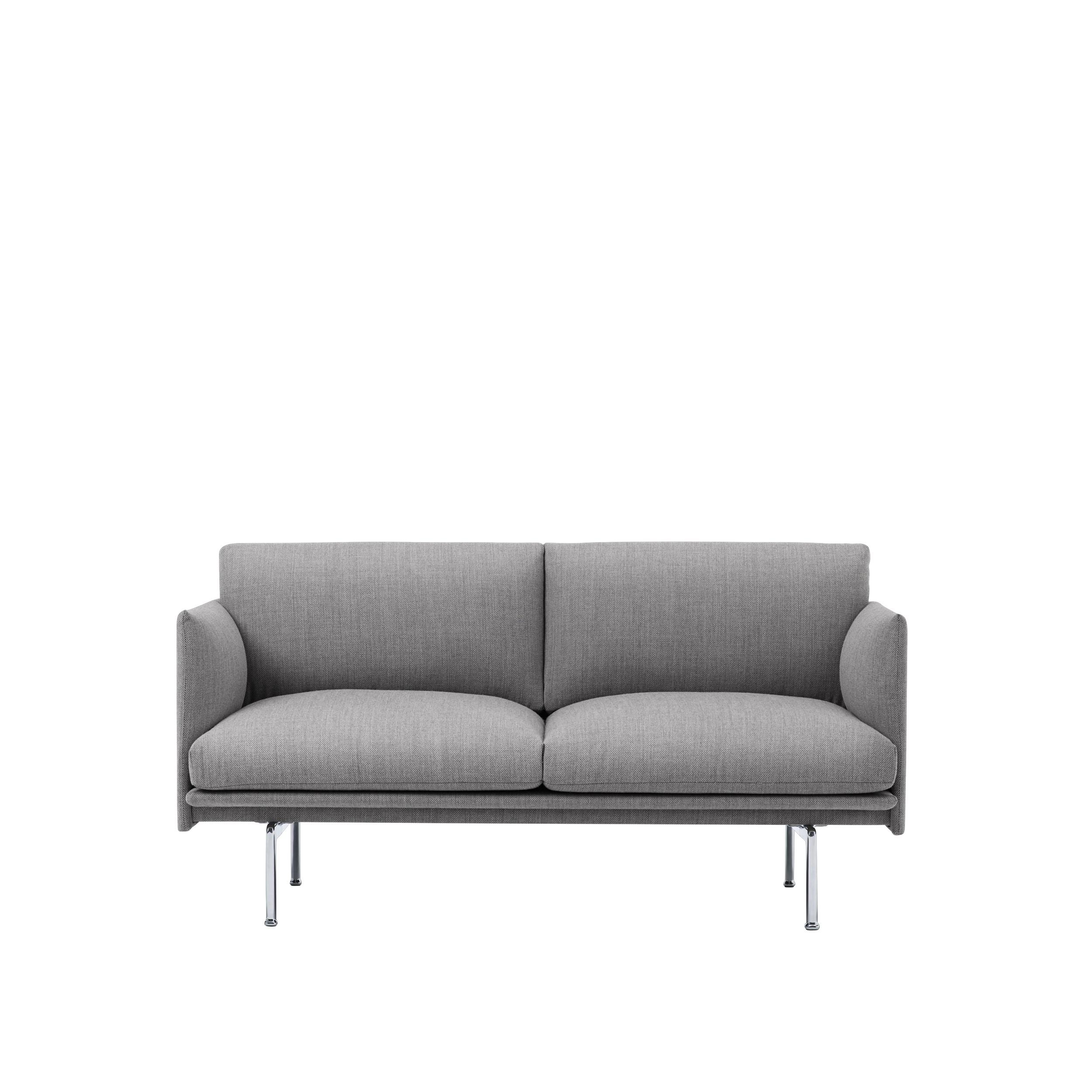 Outline Sofa 170cm Alum base