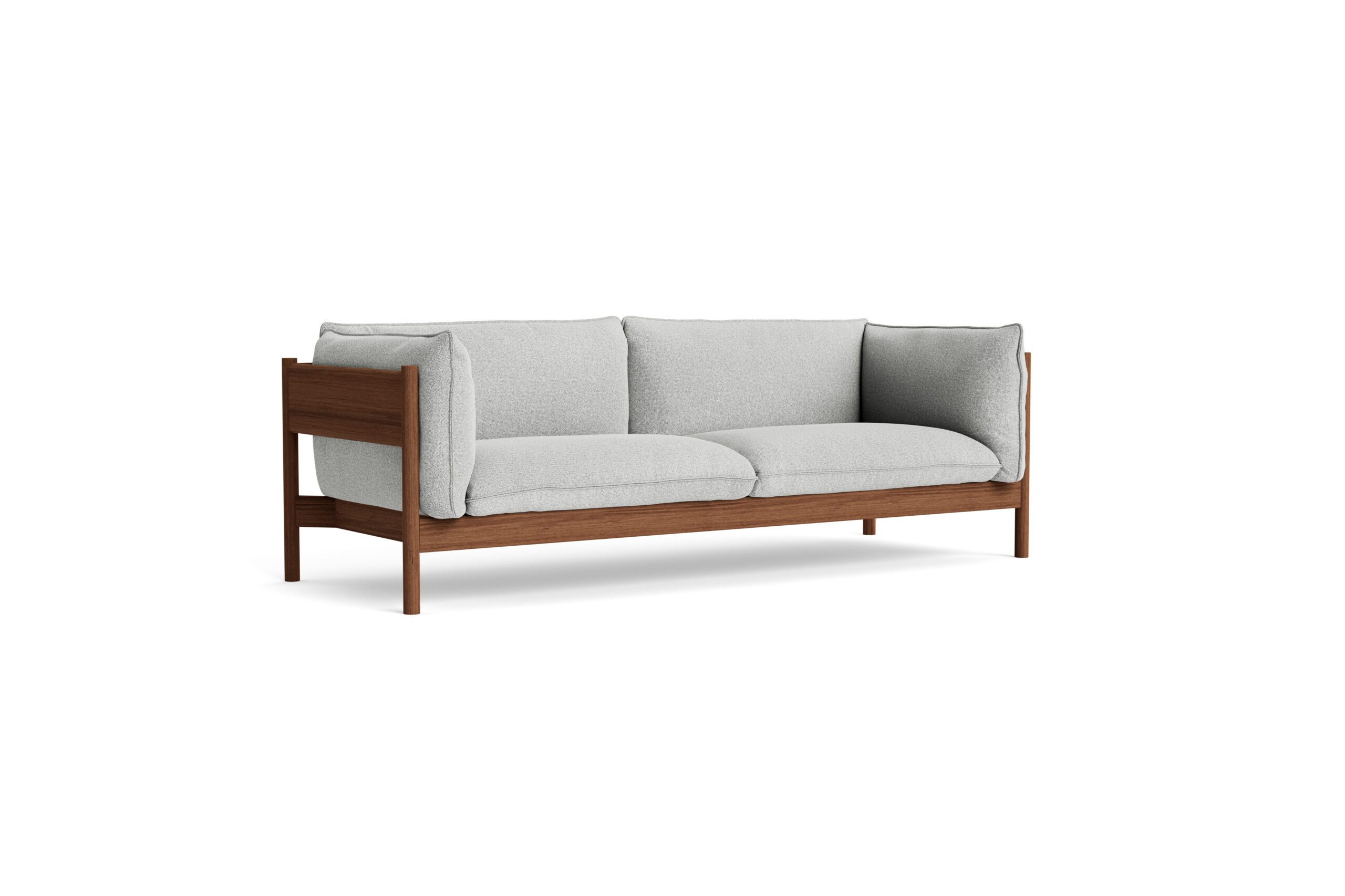 Arbour Eco 3 seater Walnut Frame