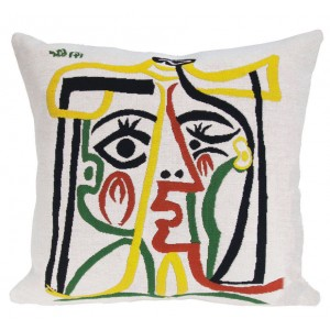 PICASSO 'HEAD OF A WOMAN' CUSHION