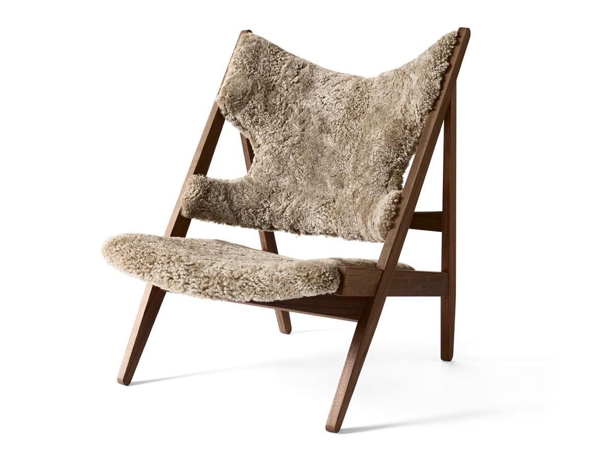 Knitting Chair Sheepskin