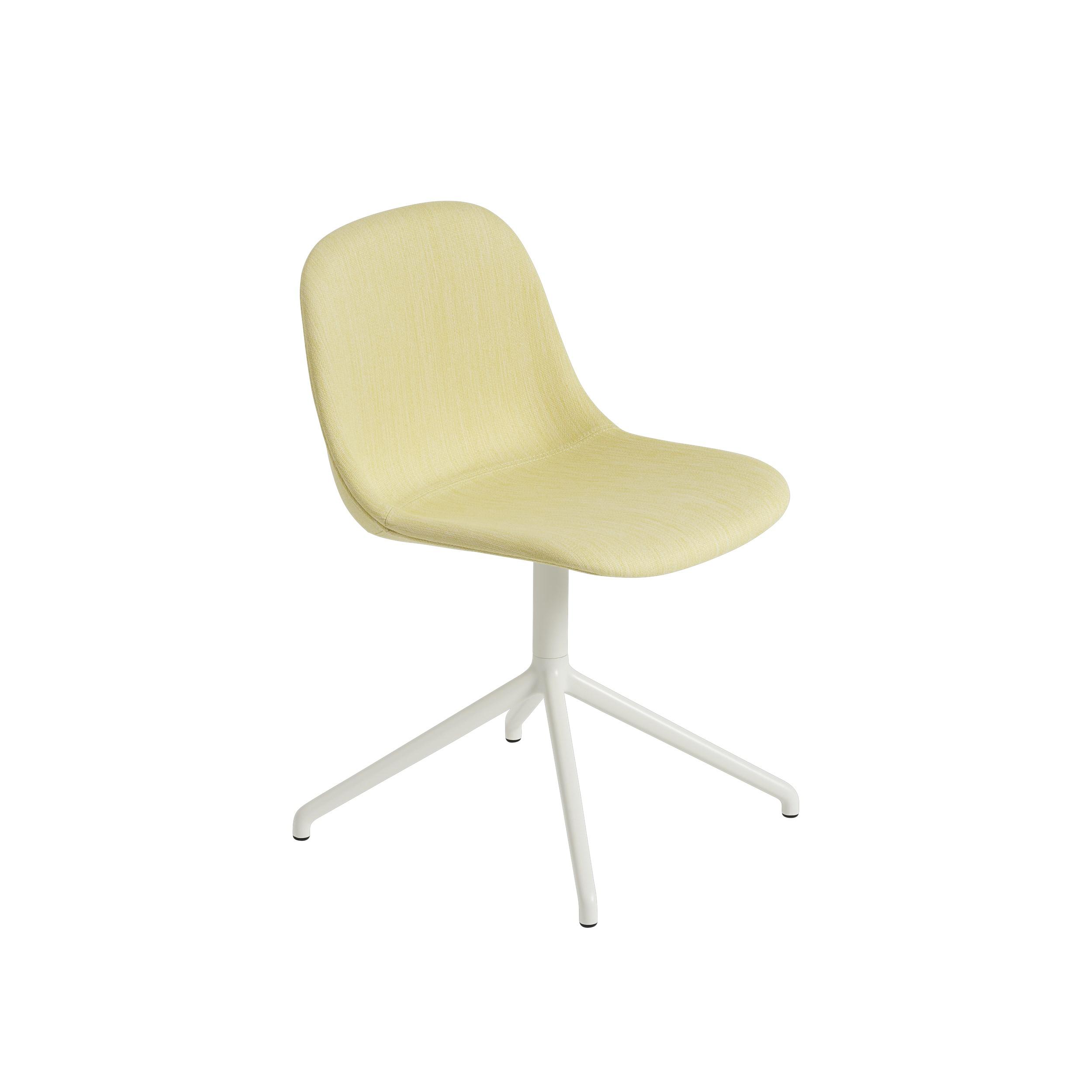 Fiber Side Chair Swivel-Fabric
