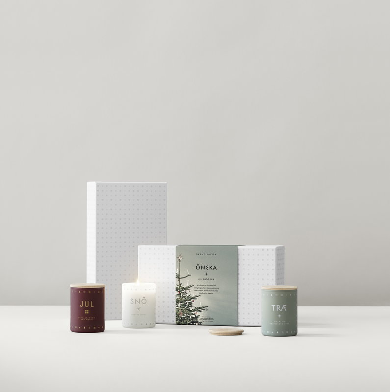Scented Christmas Candle  gift set