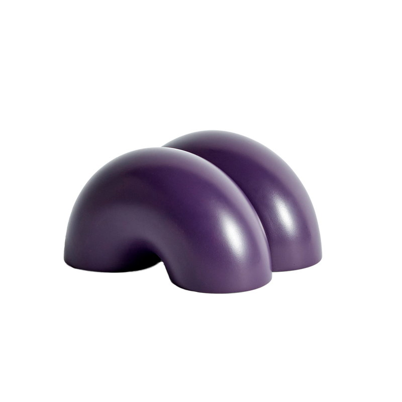 W&S Double Donut doorstop, purple