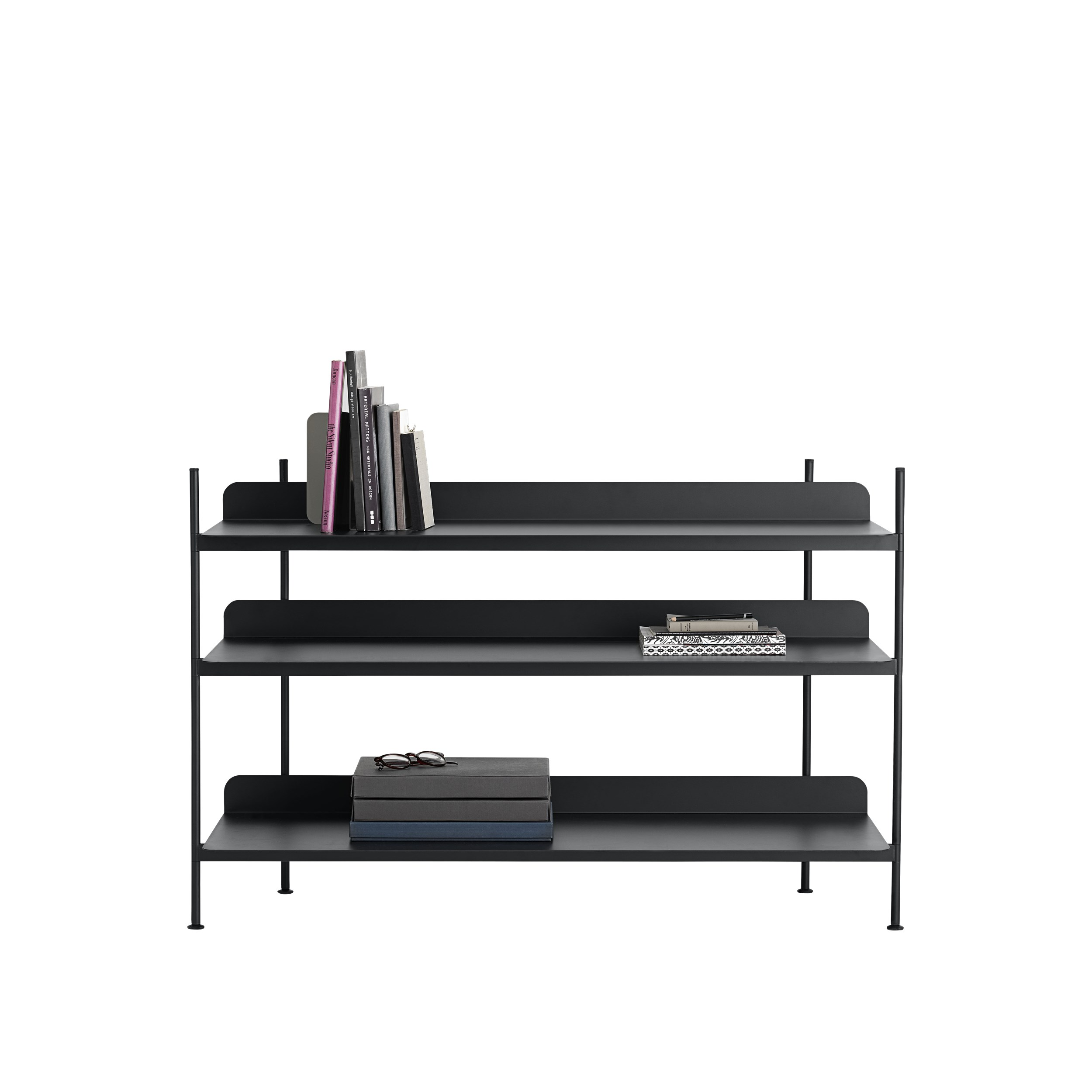Compile Shelving System-No 2 Black