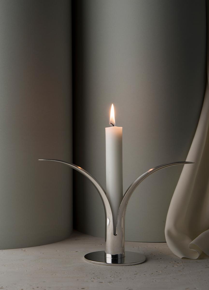 Liljan Candlestick Silver