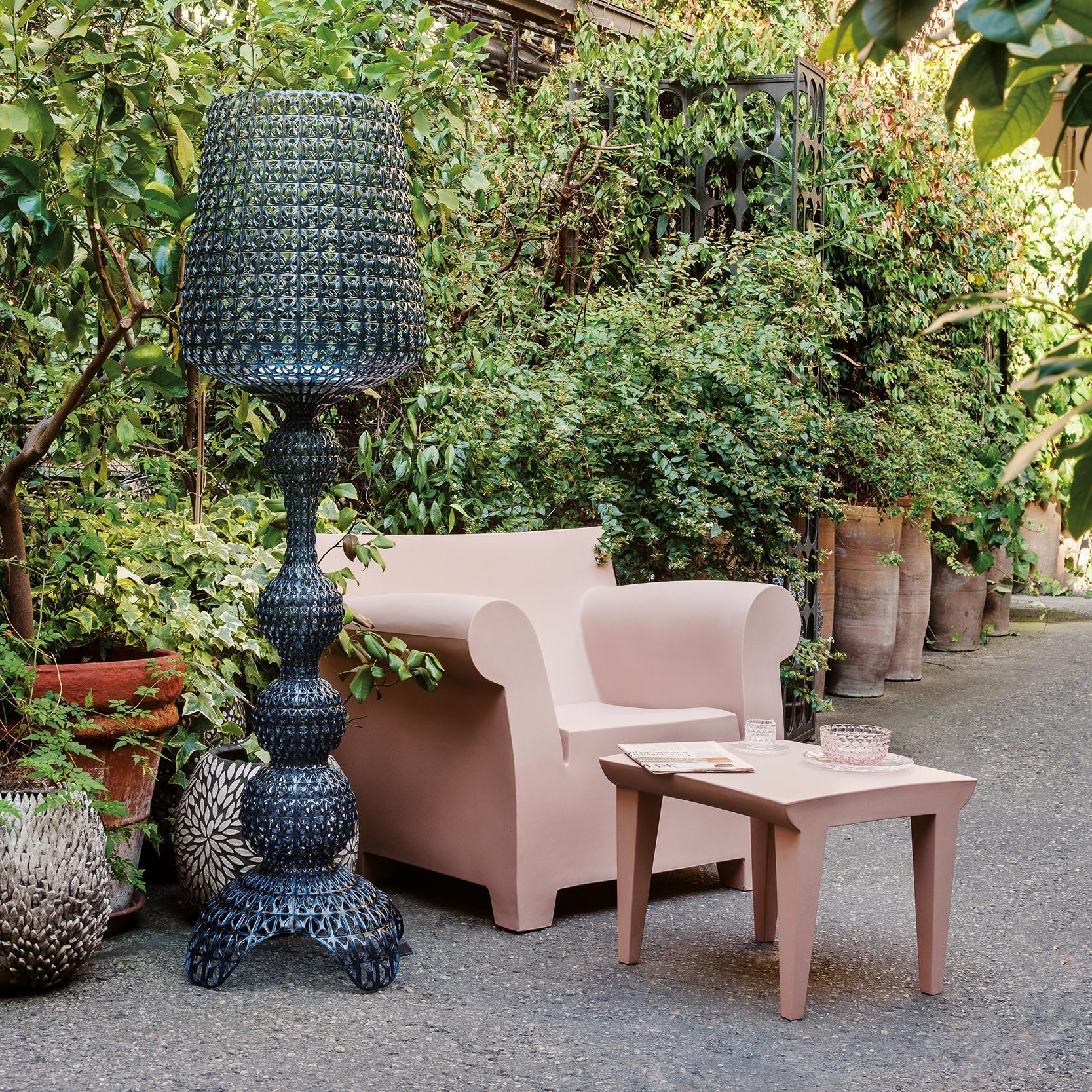 Kartell Kabuki Outdoor Floor Lamp