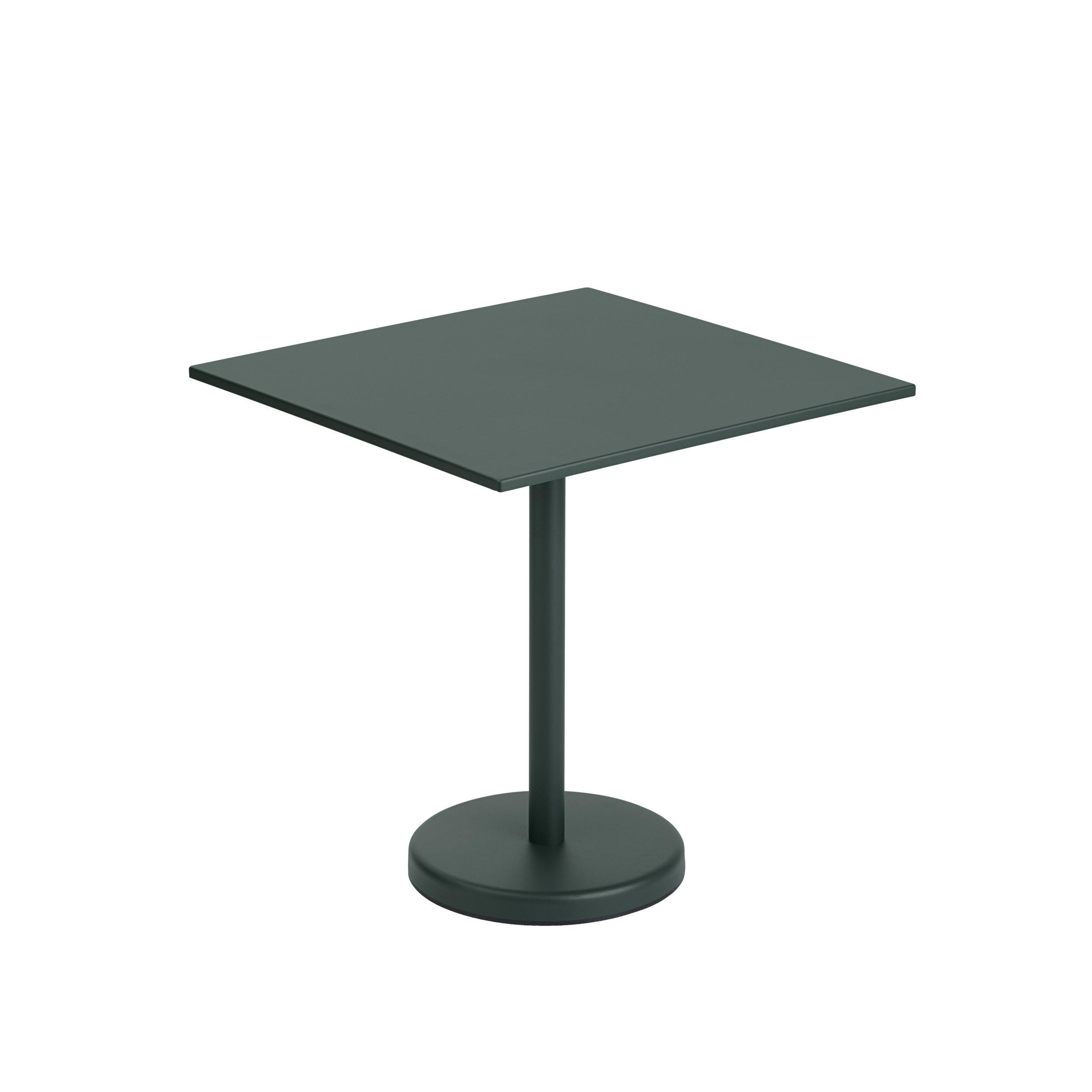 Linear Steel Cafe Table 70 x 70cm